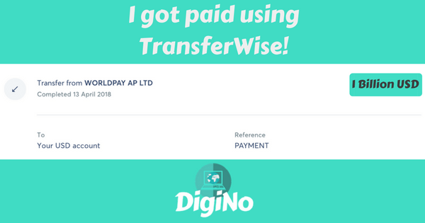 Got paid using TransferWise! (1)