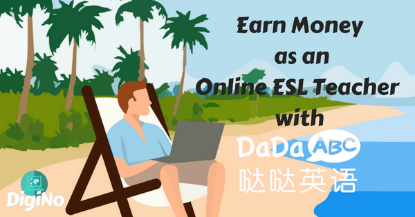 How much does DaDaABC pay online ESL teachers?