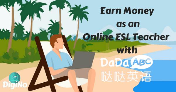 Earn Money as an Online ESL Teacher with DaDaABC