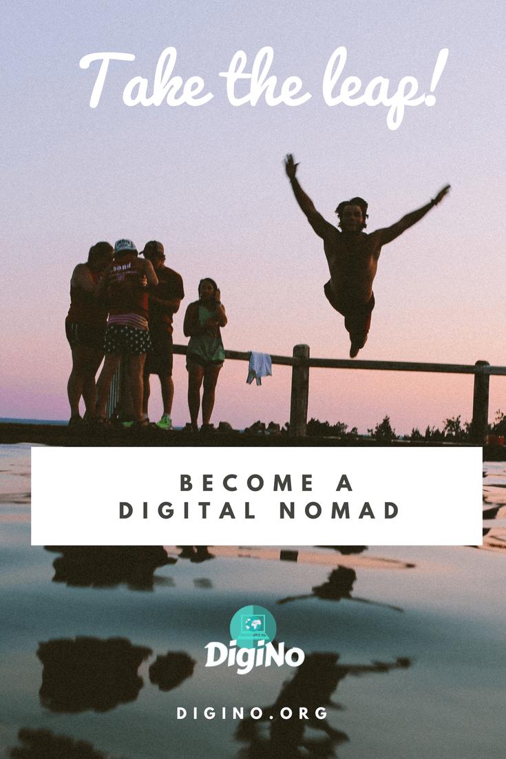 Become a Digital Nomad | DigiNo