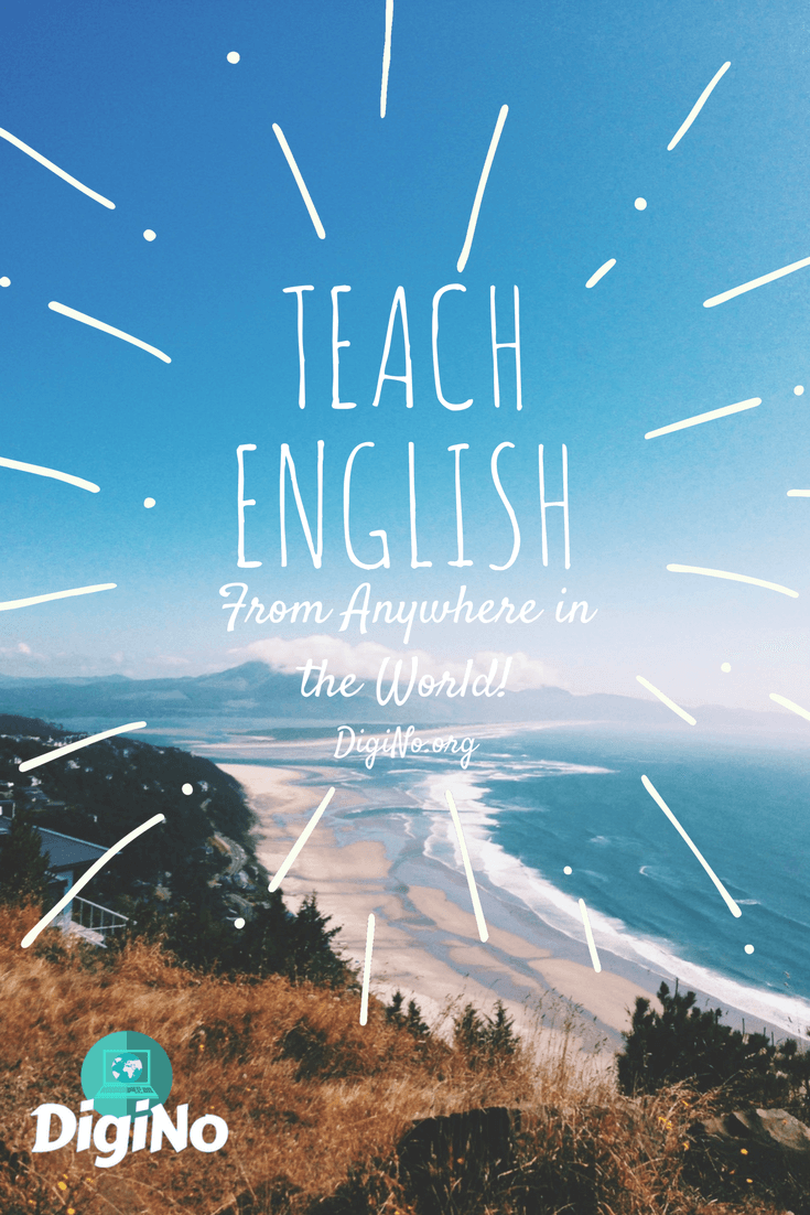 Teach ESL Online From Anywhere in the World | DigiNo