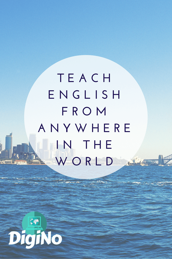 Teach English From Anywhere in the World | DigiNo