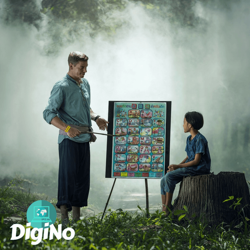 Teach English all over the world | DigiNo