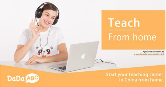 Teach Online ESL From Home with DaDaABC