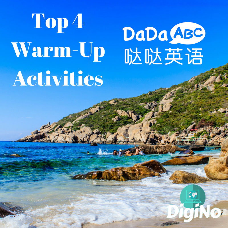 Top 4 Warm-Up Activities for DaDaABC | DigiNo