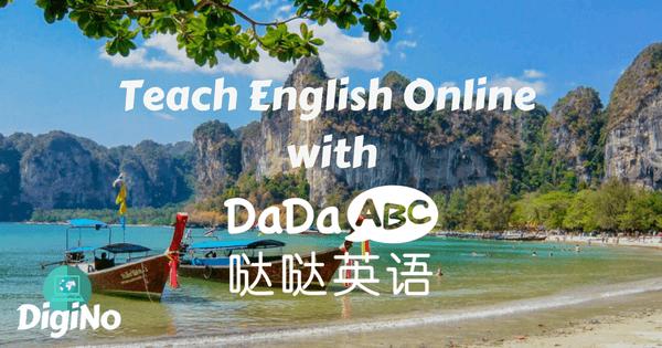 Teach English Online with DaDaABC