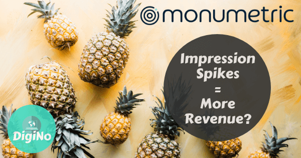 Monumetric – Do Impression Spikes Equal More Revenue?
