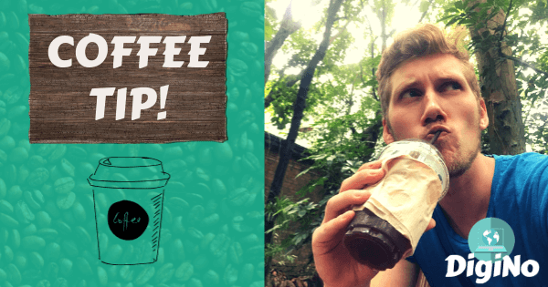Tip DigiNo a Coffee?