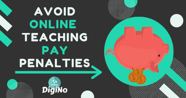 online teaching pay penalties