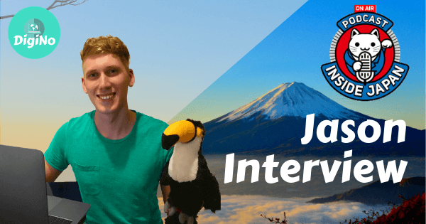 """Jason DigiNo on Inside Japan Podcast – """"My Story, JET and Teaching Online"""""""