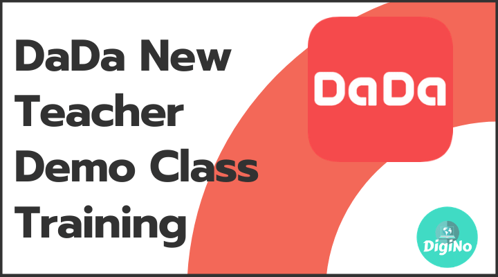 DaDa New Teacher Demo Class Training