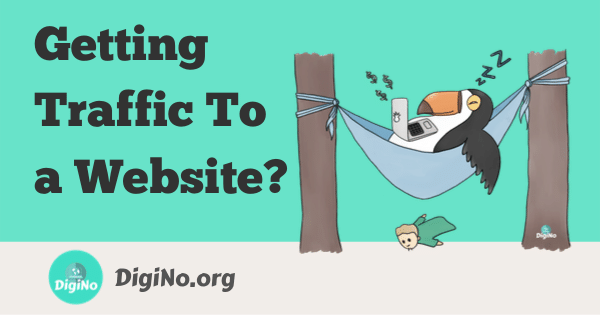 getting traffic to a website