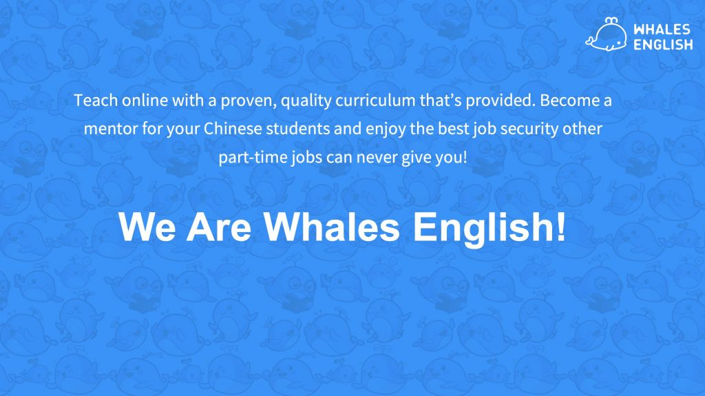 whales english apply