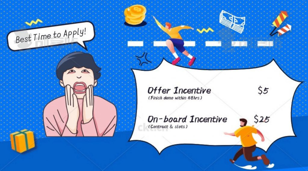 GOGOKID New Bonus for Applicants in October 2020