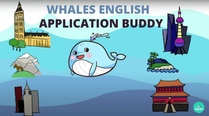 Whales English Application Buddy