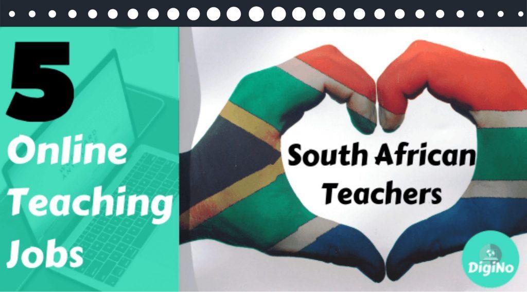 5 Best Jobs for South African Online Teachers