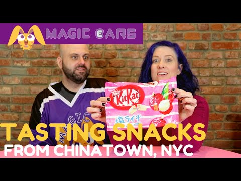 Tasting Treats from Chinatown, NYC | Magic Ears