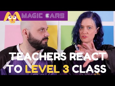TEACHERS REACT TO A LEVEL 3 MAGIC EARS CLASS