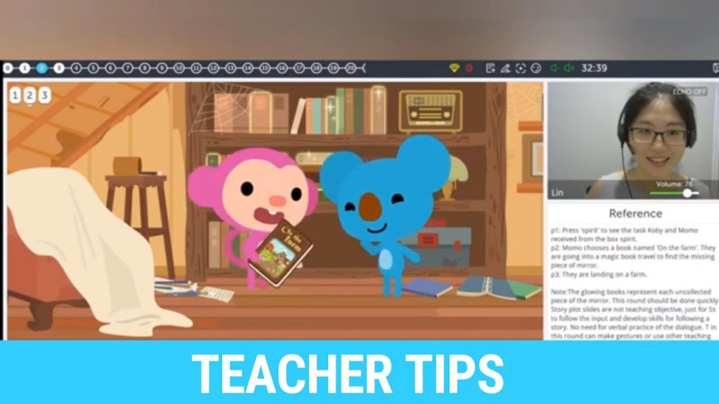 Qkids Teacher Tips on the Starter Series