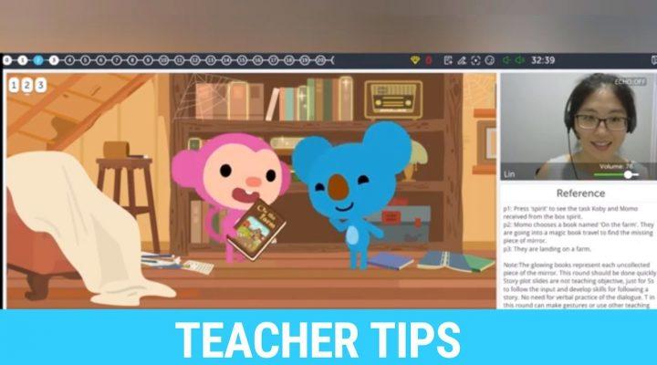 Qkids Teacher Tips on the Starter Series