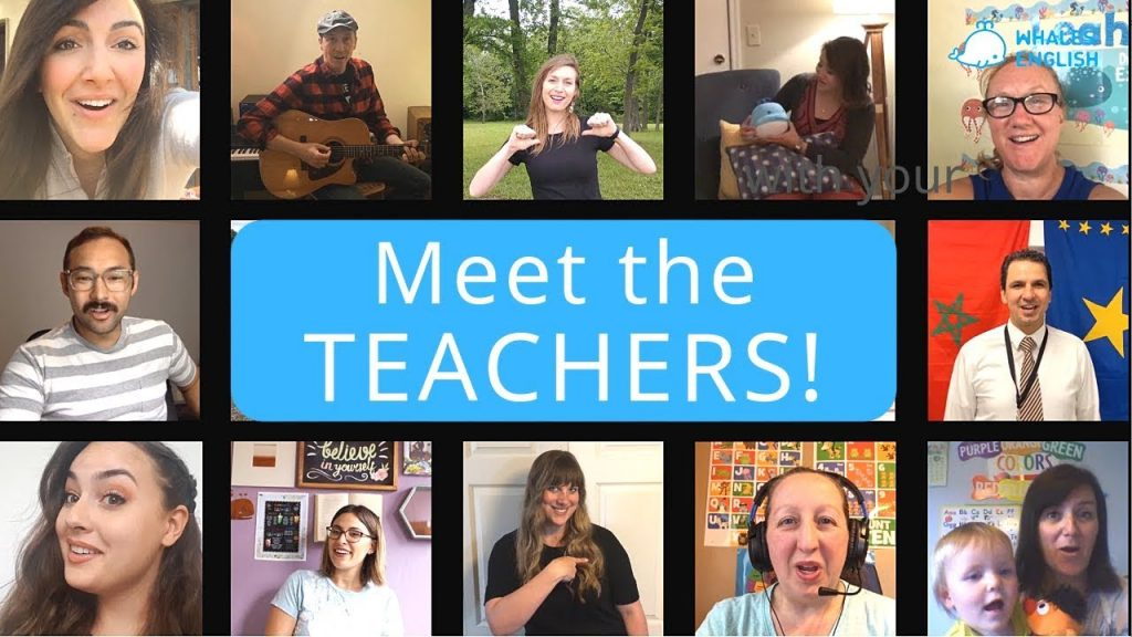 Meet Our Awesome Whales English Teachers!