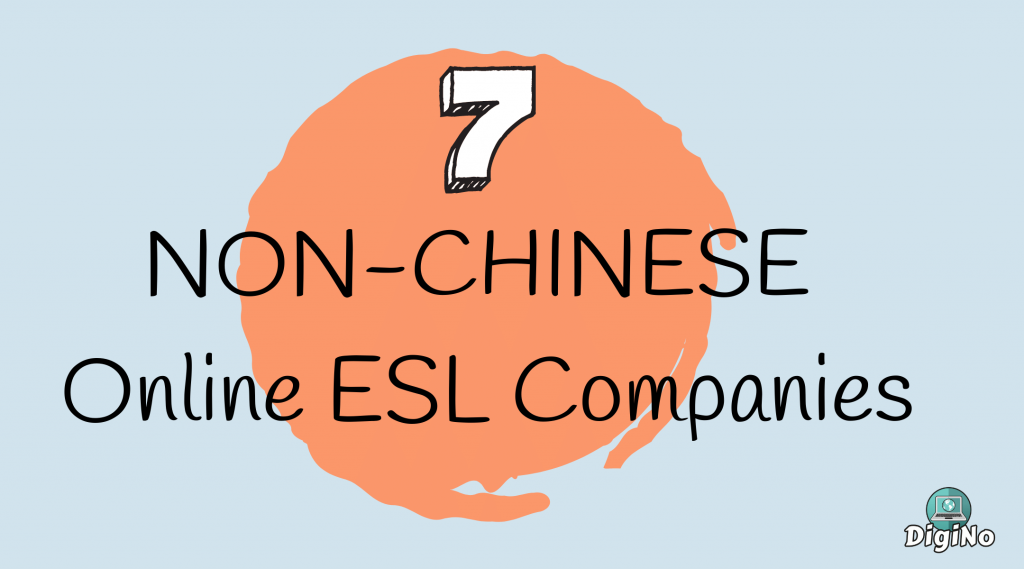 Non-Chinese Online ESL Companies